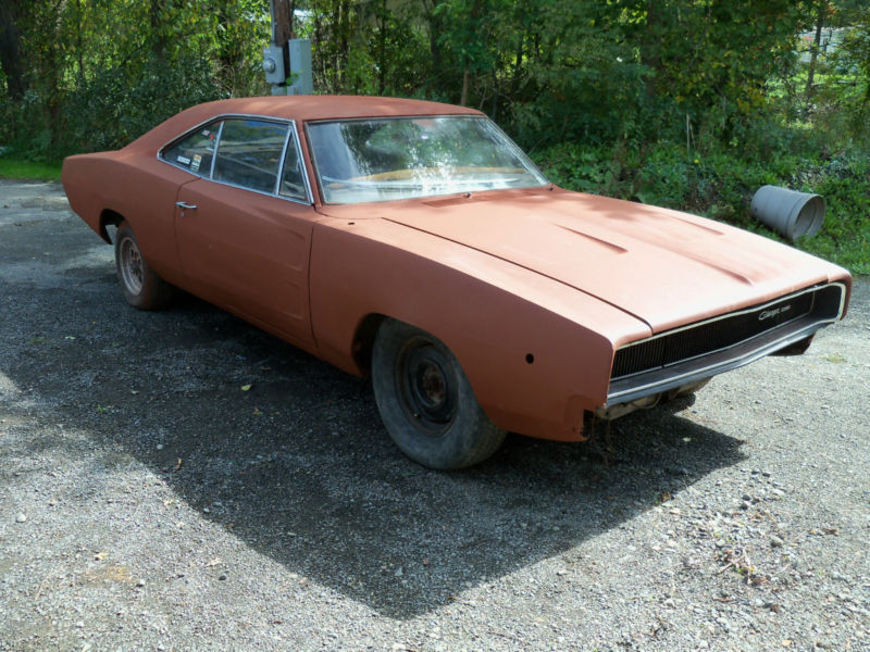 1968 Dodge Charger - Project Cars For Sale