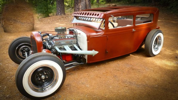 1931 Ford Model A Chopped