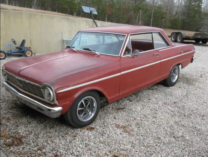 1965 Chevrolet Nova Project - Project Cars For Sale