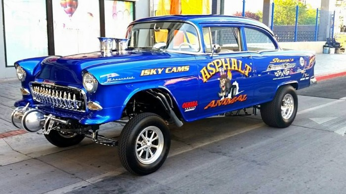 1955 Chevrolet Gasser Project Cars For Sale