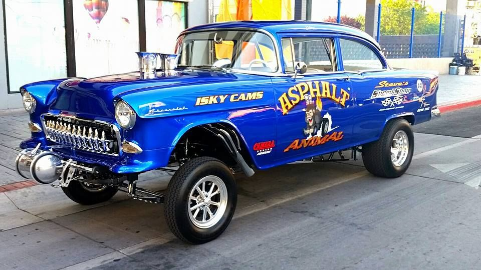1955 Chevy Gasser Project Cars for Sale
