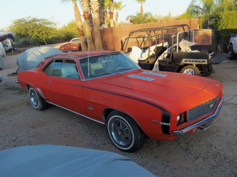 1969 Chevrolet Camaro Project - Project Cars For Sale