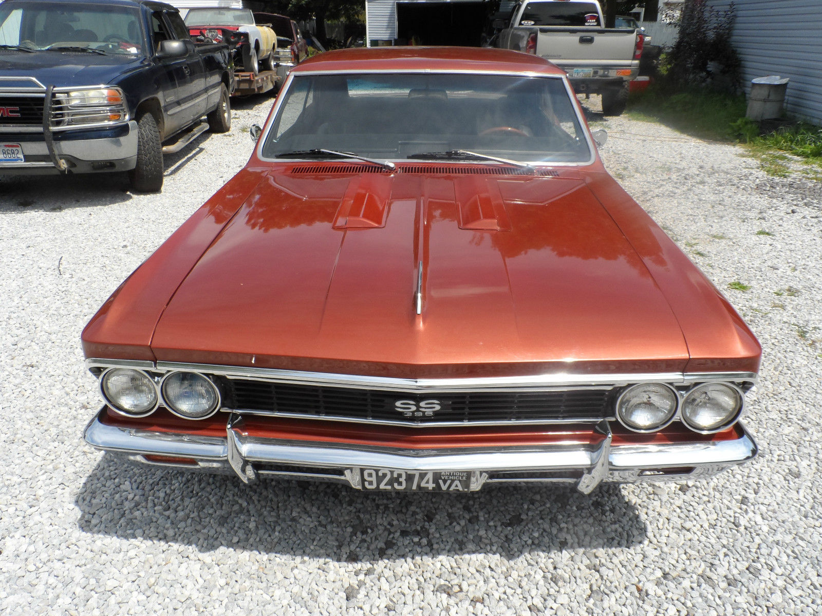 1966 Chevrolet Chevelle - Project Cars For Sale