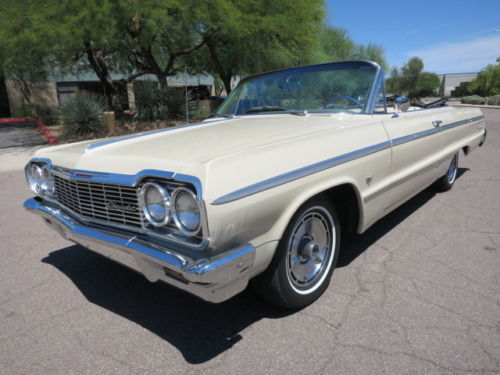1964 Chevrolet Impala Convertible Project Cars For Sale