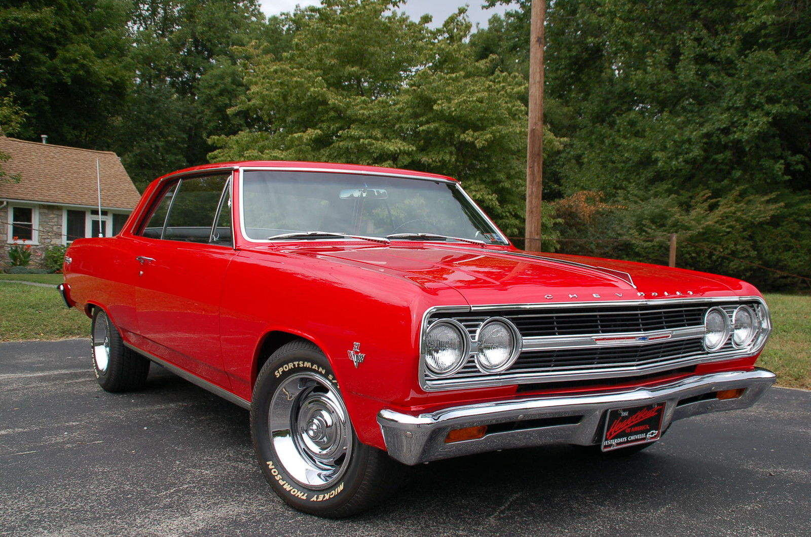1965 Chevrolet Malibu 21 on 1964 ford falcon