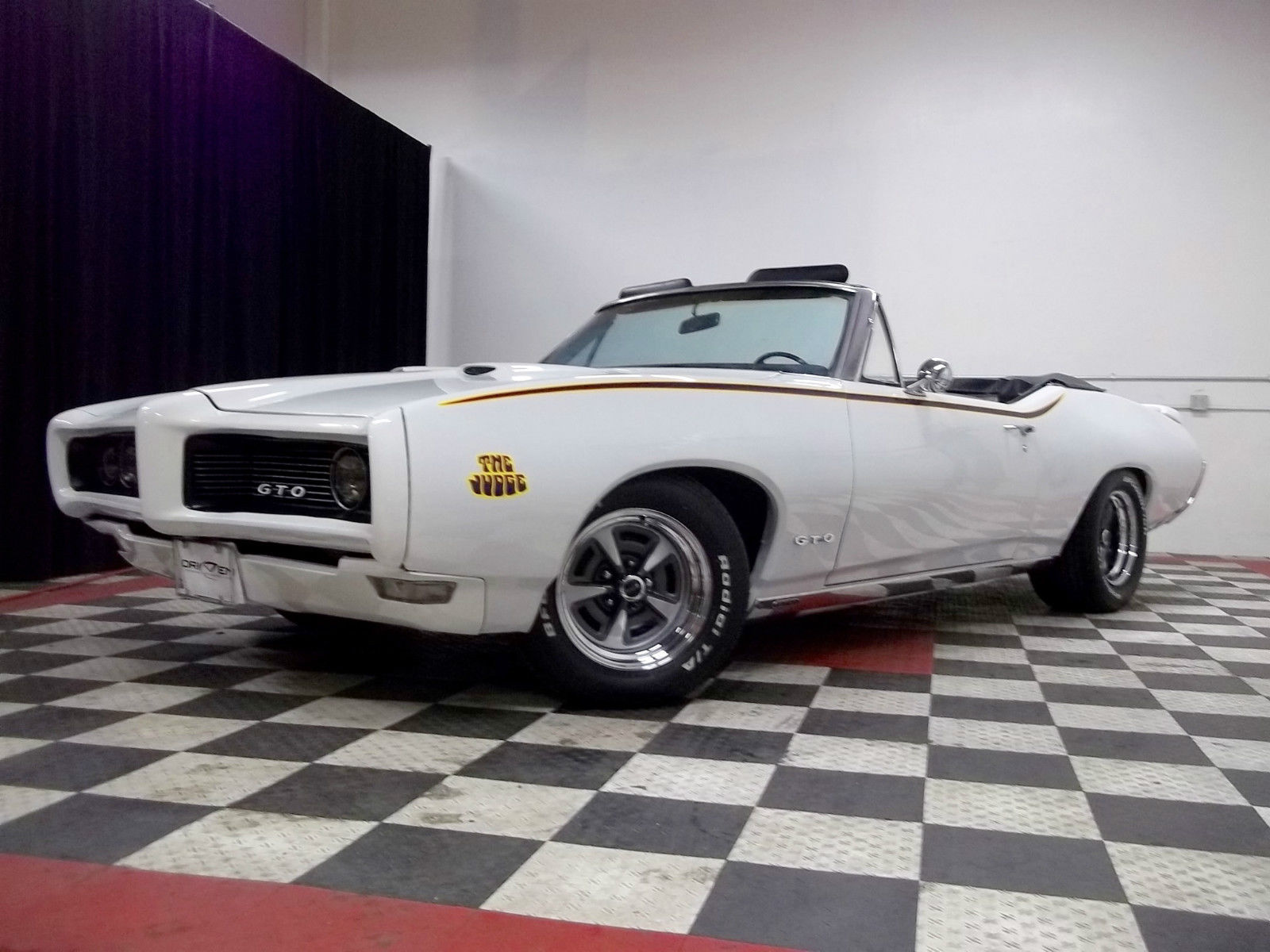 1968 Pontiac GTO Judge Convertible Tribute - Project Cars ...