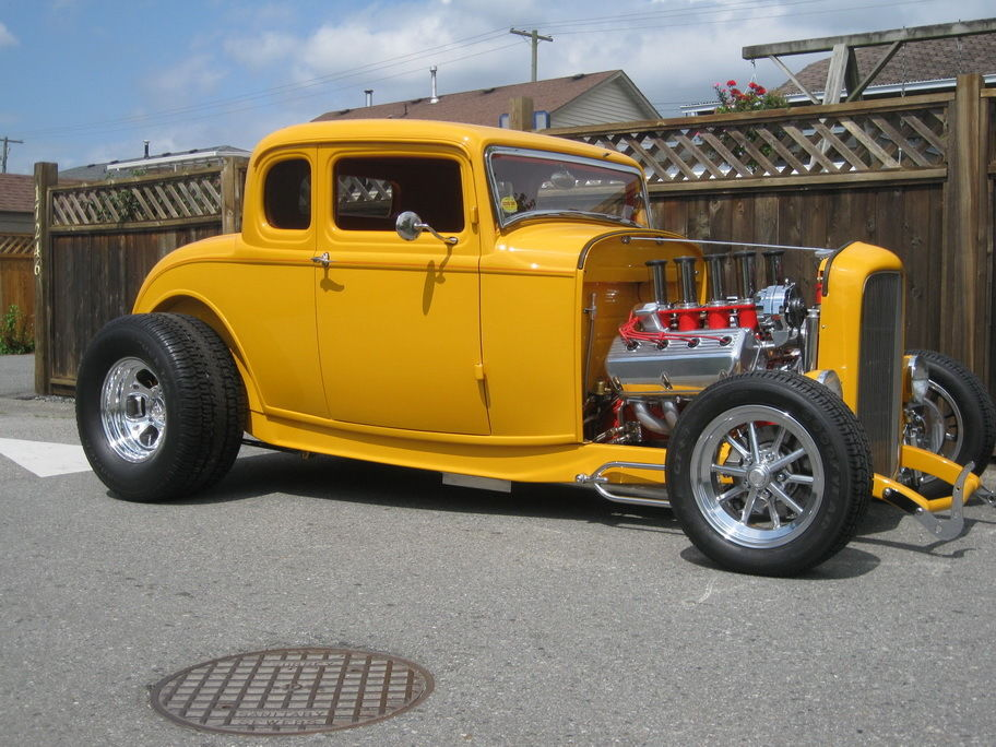 1932 Ford Model B Coupe Deluxe Coupe