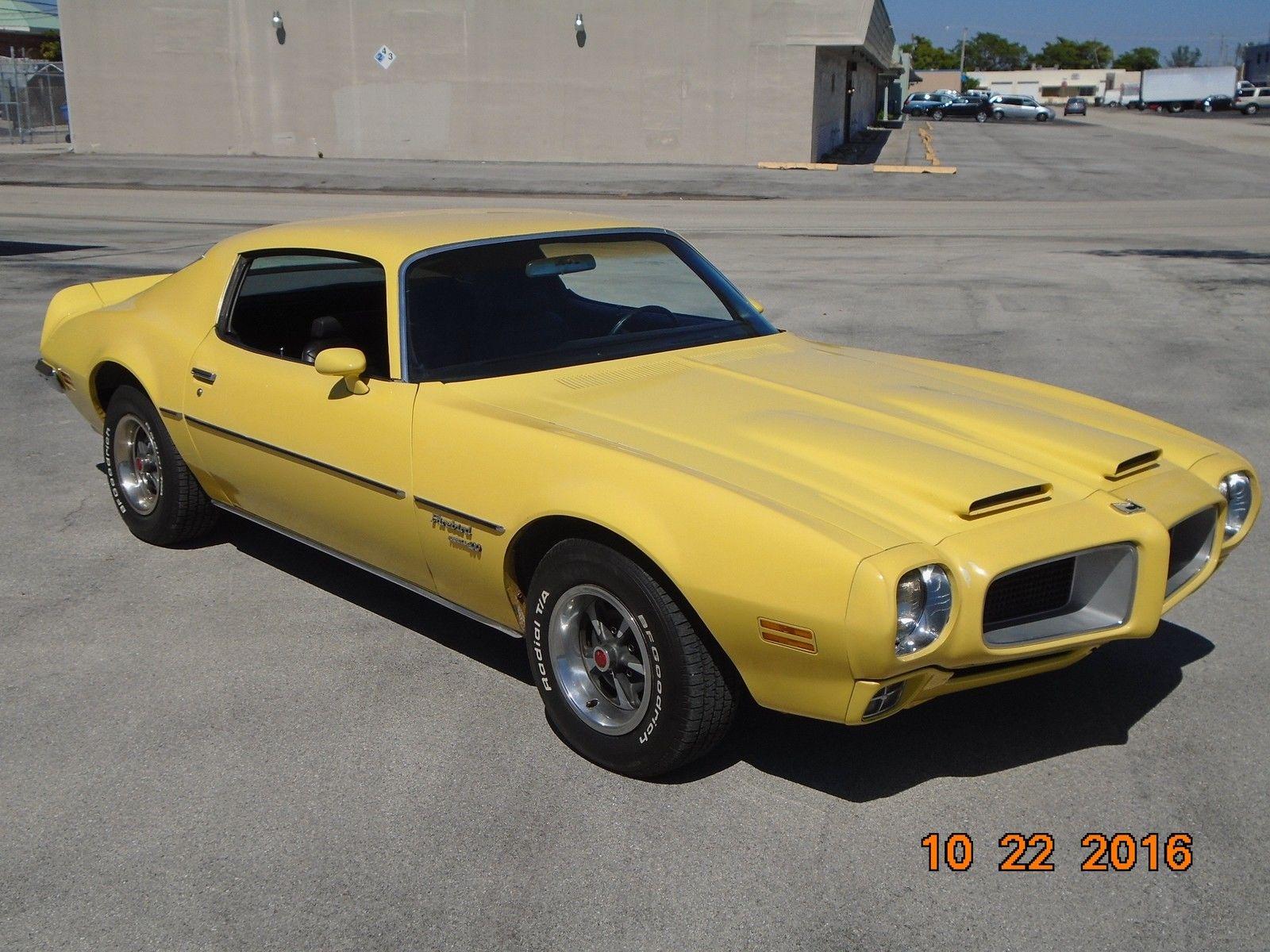 1968 Camaro Project For Sale >> 1970 Pontiac Firebird Formula 400 - Project Cars For Sale